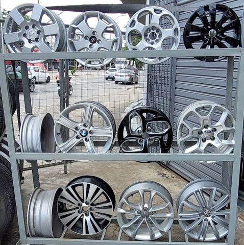 Rodas de alumínio usadas
