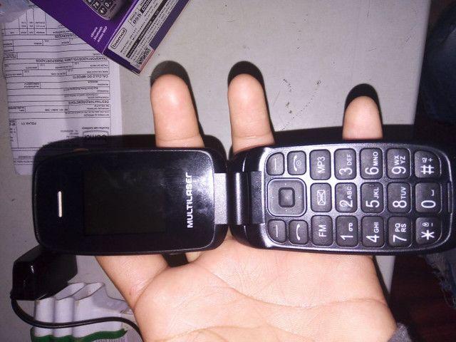 Vendo esse celular flip novo na caixa 140,00