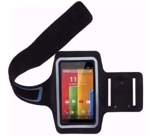Bracelete armband resistente a água para smartphones - Foto 4