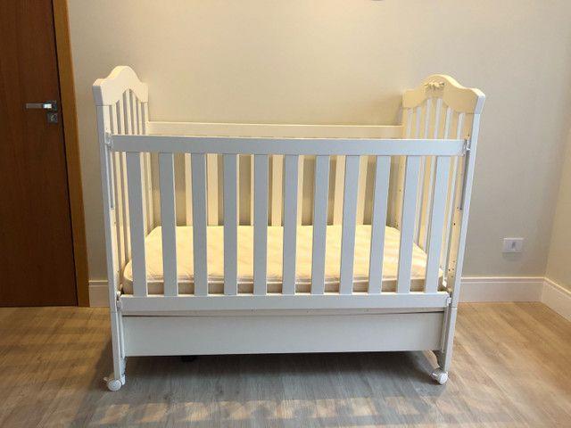 Berço imperial (mini cama)+ colchão  - Foto 4