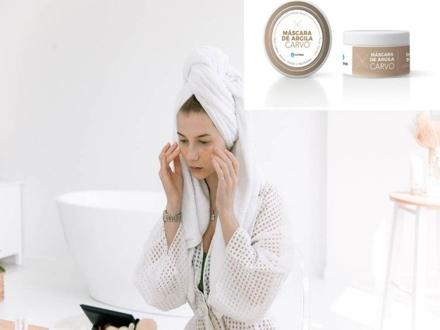 Mascara de Argila Carvo - Limpa e Hidrata á sua pele - Foto 3