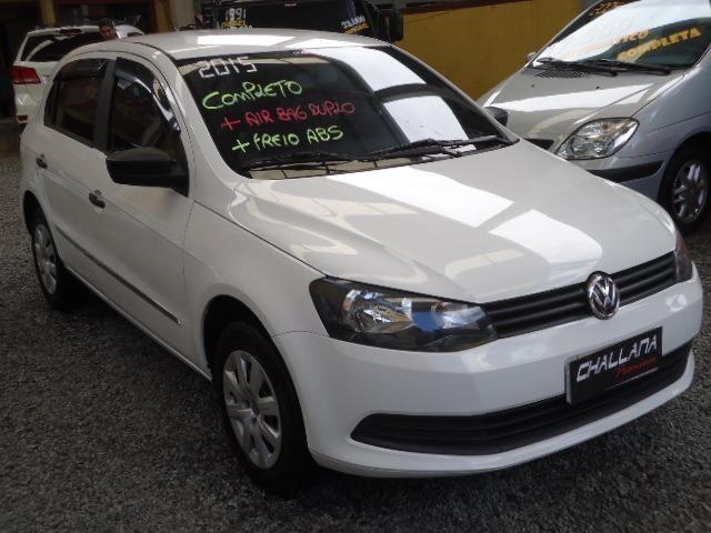 Vw - Volkswagen Gol g6 completo,4 pts,air bag,abs,usb,dh,ac,vte,usb,imperdivel,placa a