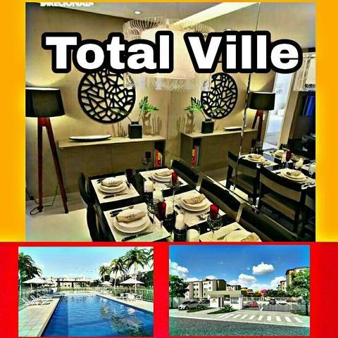 Total ville | apartamentos 2 e 3 qts excelente oportunidade entrada dividida até 30x
