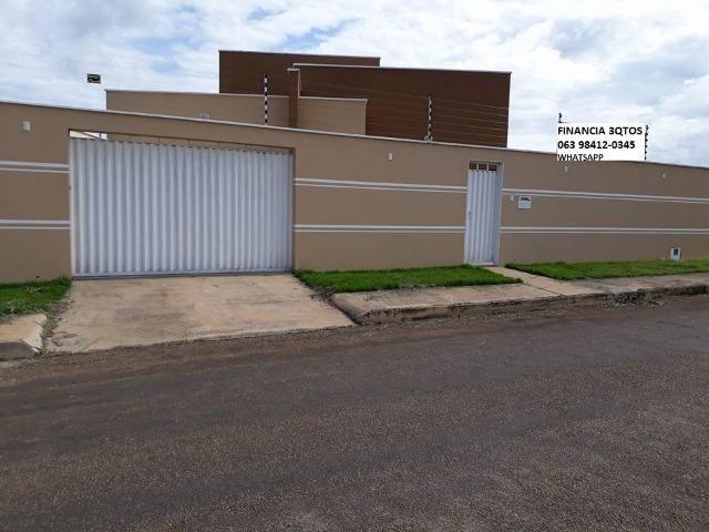Casa Nova Financia 3 Quartos Sendo 1 Suíte Casa Com Entrada Individual