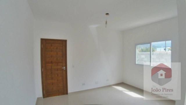 Casa com 2 dormitórios à venda, 70 m² por r$ 270.000 - jardim das gaivotas - caraguatatuba - Foto 3