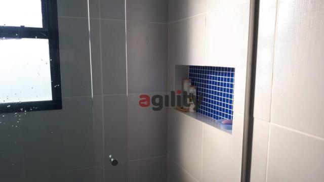Apartamento com 2 dormitórios à venda, 114 m² por r$ 550.000,00 - capim macio - natal/rn - Foto 17