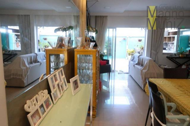 Casa duplex com 3 suítes projetadas para alugar, 140 m² por r$ 5.500/mês - praia do futuro - Foto 14