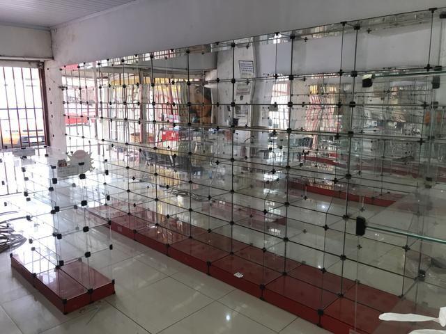 Prateleira de vidro usadas - Foto 2