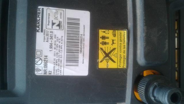 Lavadora de alta pressão karcher k2 - Foto 3