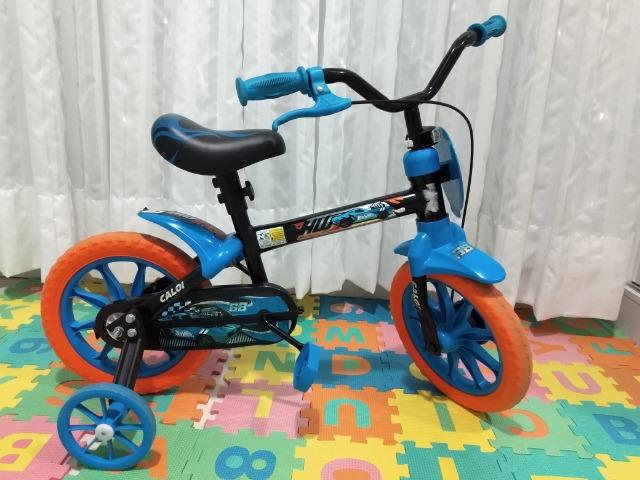 f05f4e7dc Bicicleta Caloi aro 12 Hot Wheels - Artigos infantis - Indaial ...
