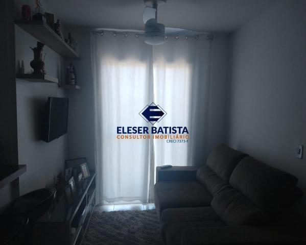 Apartamento à venda com 2 dormitórios em Villaggio laranjeiras, Serra cod:AP00077 - Foto 3