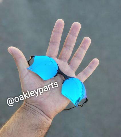 5cde4fc00e921 Óculos Lupa Oakley Elite Tailend Azul Bebê Roxa Ruby Pink Rosa Corte  Vespa+Brindes