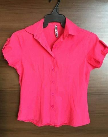 f134d714d Blusa Social Rosa - Loja Marisa - Tamanho 38 - R  10