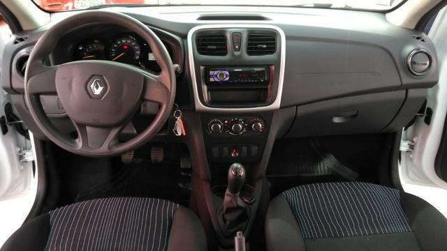 Renault Sandero Authentique 1.0 12V (Flex) 2018 - Foto 7