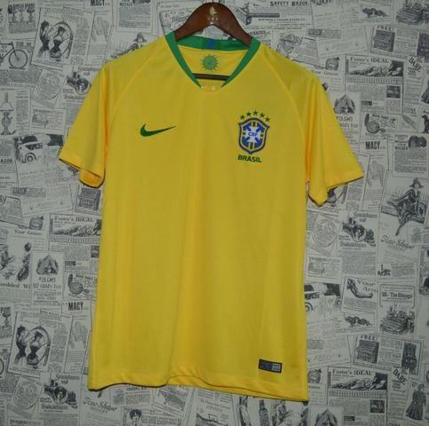 Camisa Brasil Home 2018 / 2019