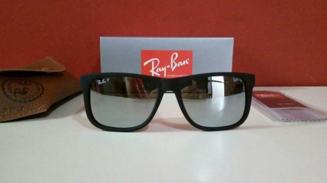 bdb36d485 Óculos de sol Ray Ban Justin Polarizado Novo Frete grátis ...