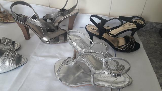 0eaf9a3a7 Sapato e sandálias de festa - Roupas e calçados - Vila Bancária ...