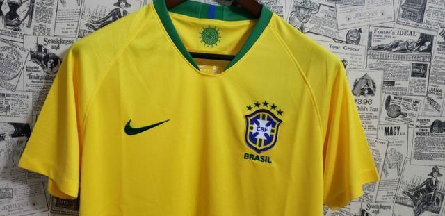 Camisa Brasil Home 2018 / 2019 - Foto 4