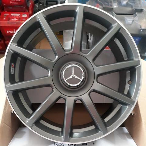 Rodas Aro 18 Mercedes AMG Gloss Gray Novas