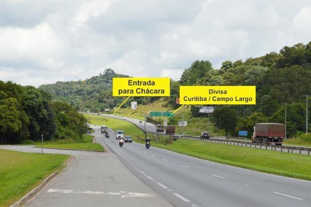Chácara em Campo Largo Divisa com Curitiba (Oportunidade)