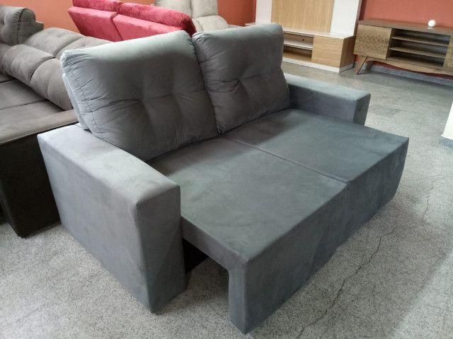 Sofa pronta entrega parcelo no cartao - Foto 3