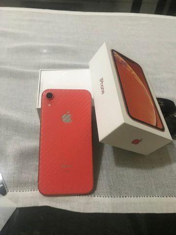 IPhone XR 64gb Coral, estado de novo - Foto 3