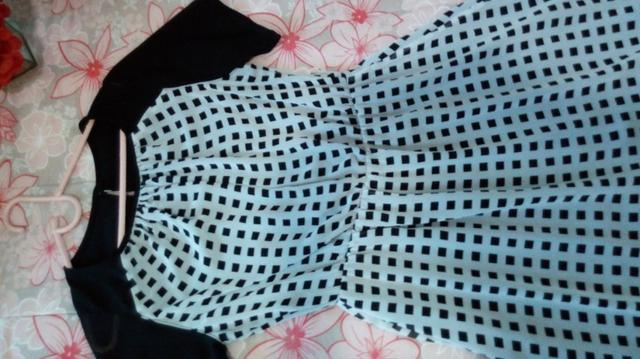 Vestido Estampado Quadricular - Foto 2