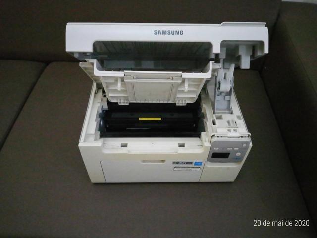 Impressora Multifuncional a laser monoc. Samsung SCX-3405W c/ WiFi e estabilizador 1000w - Foto 6