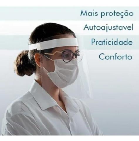 Máscara de proteção facial shield