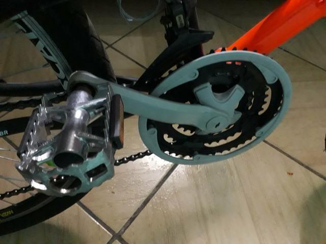Bicicleta mormaii aro 26 bem nova(ler anuncio) - Foto 4