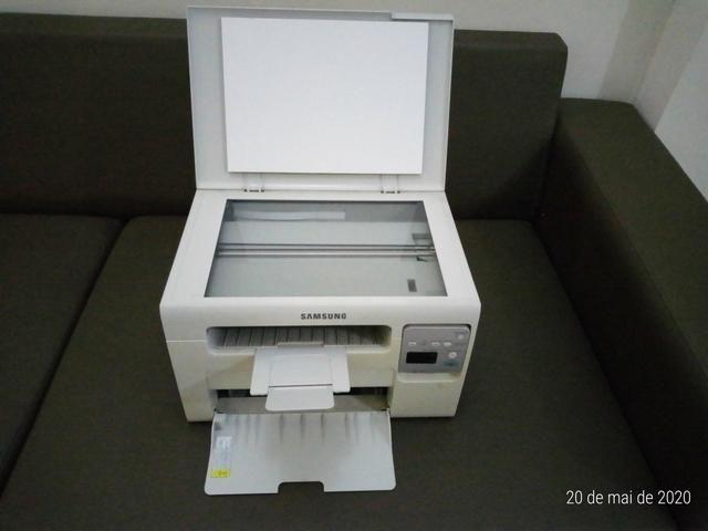 Impressora Multifuncional a laser monoc. Samsung SCX-3405W c/ WiFi e estabilizador 1000w