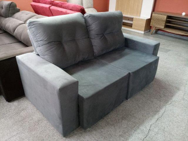 Sofa pronta entrega parcelo no cartao - Foto 2