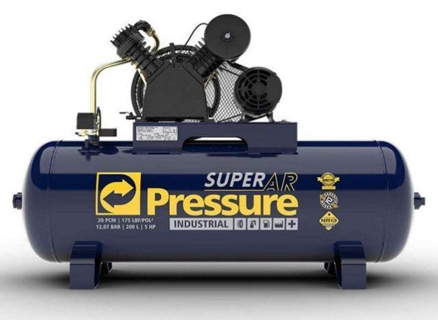Compressor 20 200L 175 Libras 220/380V Pressure