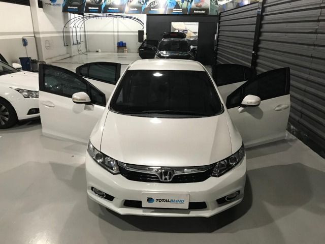Blindado Honda Civic lxr Flex 13/14 80.000 km - Foto 7