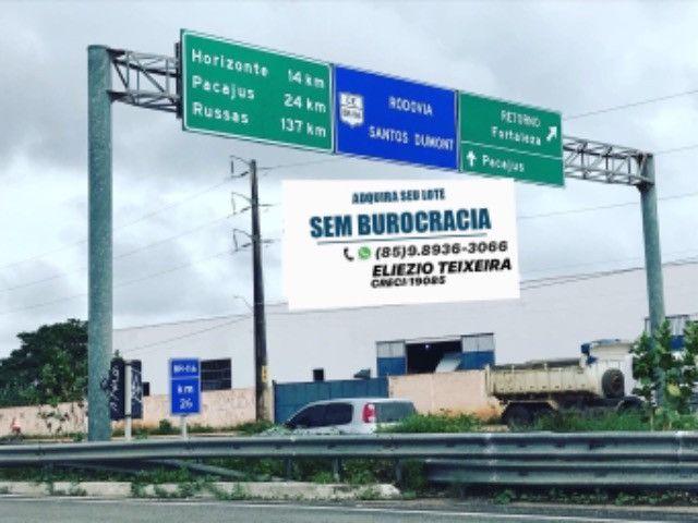 Loteamento às margens da BR-116, 10 min de Fortaleza! - Foto 4