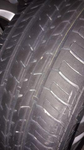pneu e rodas gm 5 furos - Foto 4