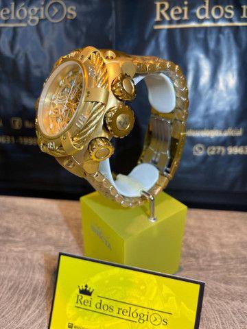 Invicta Thunderbolt banhado a ouro  - Foto 2