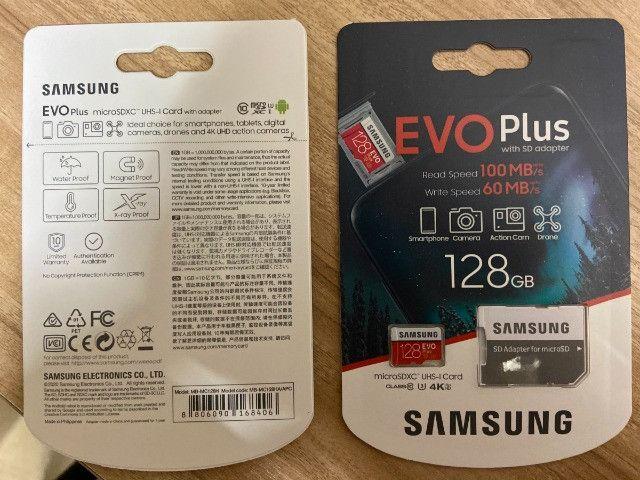 Cartão Memória Samsung Original 128g Nintendo Switch Ps Vita - Foto 3