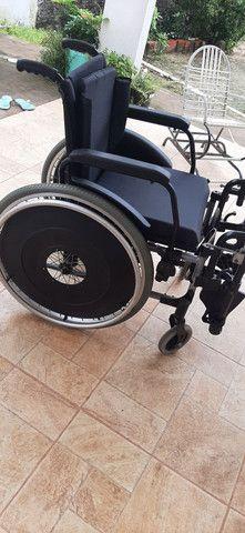 Cadeira de rodas novinha nunca usada, da ortobras - Foto 2