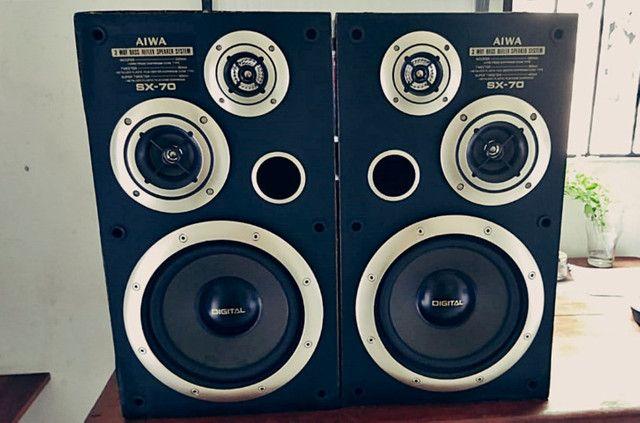 Caixas de som passivas Aiwa SX70 - Foto 5