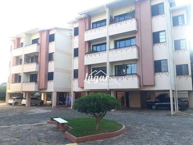 Apartamento com 2 dormitórios para alugar, 70 m² por R$ 800,00/mês - Jardim Aquárius - Mar