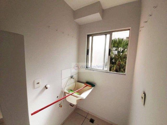 Apartamento com 2 dormitórios para alugar, 65 m² por R$ 1.300,00/mês - Poção - Cuiabá/MT - Foto 4