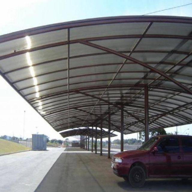 toldo garagens com melhor preço da região - Foto 4
