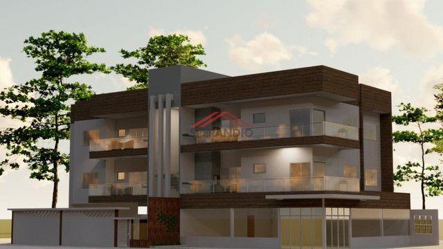 Última unidade! Apartamento novo c/ 1 suíte + 2 quartos, frente para Avenida Pérola - Cond - Foto 2