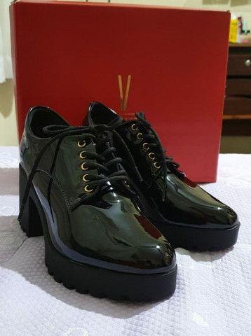 Sapato Vizzano Oxford Tratorado n° 37 <br><br> - Foto 3