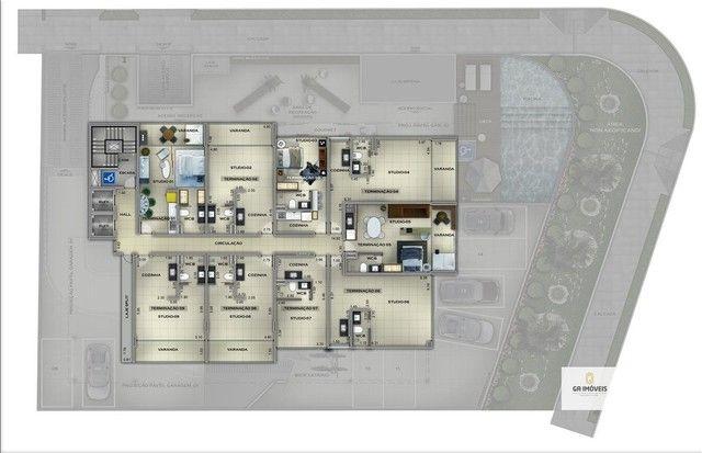 Apartamento à venda, 1 quarto, 1 vaga, Cruz das Almas - Maceió/AL - Foto 17