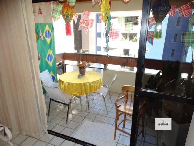 Apt 154 m², 2 quadra da praia da Jatiúca 3 quartos2 suítes varanda em todos os quartos só  - Foto 16