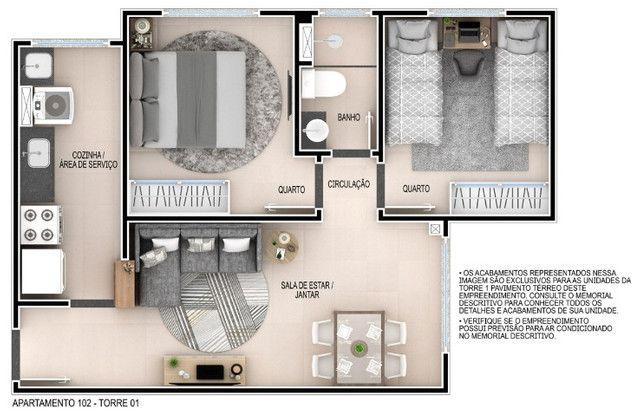 Venha morar no melhor do passaré com lazer completo 2 quartos e elevador. - Foto 12