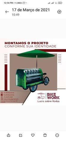 Fabricamos carrinhos gourmet food  bike projetos especiais - Foto 5