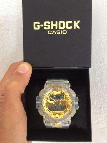 Relógio Casio G-Shock Transparente A prova d'água - Foto 2